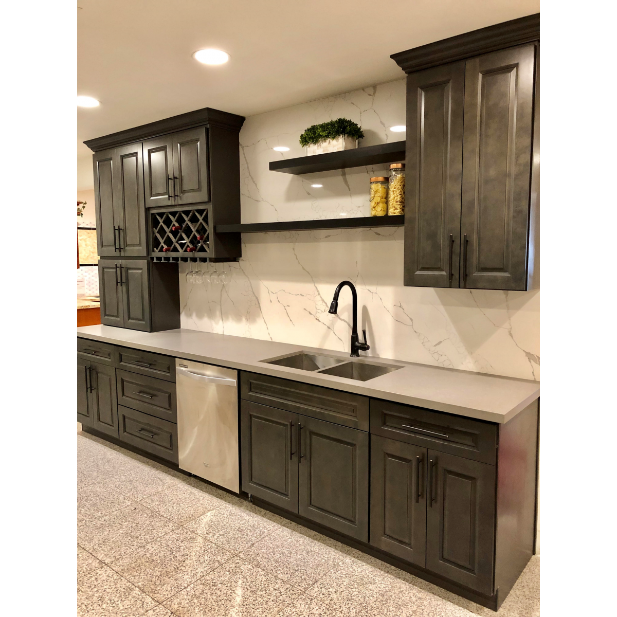 G Driftwood Gray - Kitchen Cabinet - Cabinet - Products